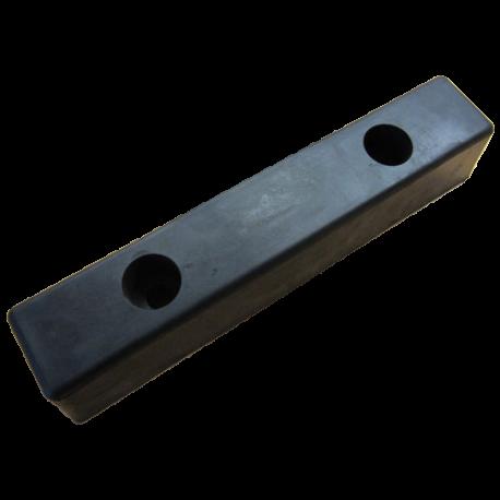 400 x 80 x 72mm - Gummibuffert