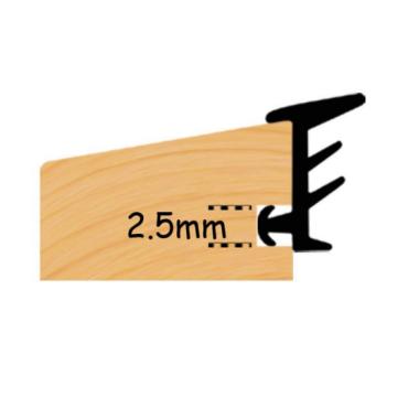 Glaslist profil - 3 x 15mm