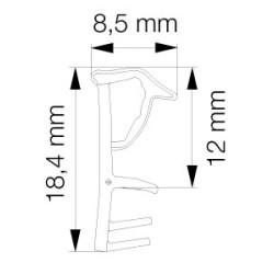 Primo 5792 Grå - 6m Pakke