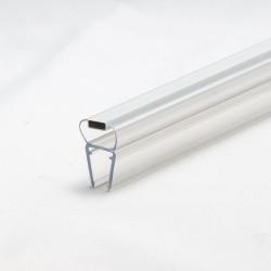 Duschprofil 180° magnetisk dörrprofil