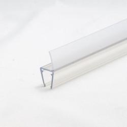 Duschprofil 330 13mm med topptätning