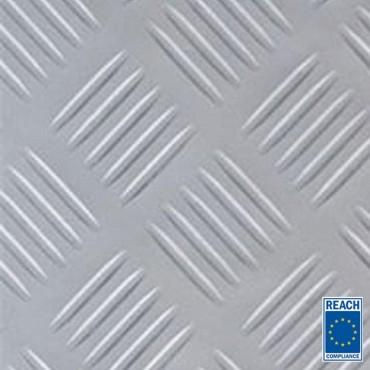 3mm - Grå Durkmatta i gummi - PREMIUM - 1400mm