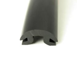 Inläggslist - PVC1614 - Svart