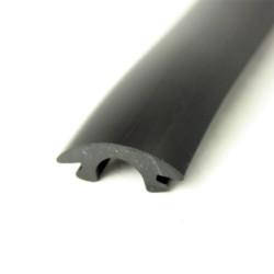Inläggslist - PVC1418 - SVART