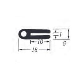 U-Profil 1mm