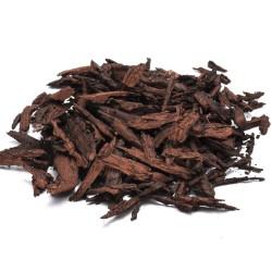 Gummiflis mörkröd 1-7cm