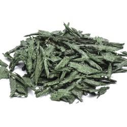 Gummiflis grön 1-7cm