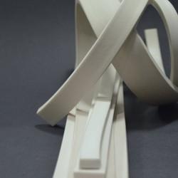 5x5mm Silikone Svampgummi