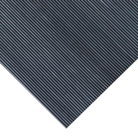 3mm finrillet gummiplade