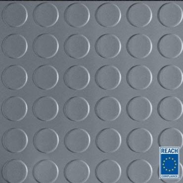 3mm - Grå Pastillmatta - 1200mm