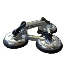 Glaslyftare tredubbelt modell i metall till 120 kg