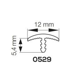 Bordsfrontremsa för 12 mm tallrik