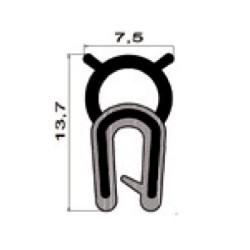 Kantlist 1-2mm m. topptätning