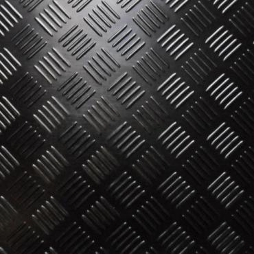 3mm - TPR Durkmatta i gummi - 1400mm