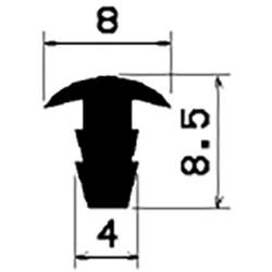 T-Profil - 2,5mm