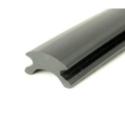 Inläggslist - PVC74 - Svart