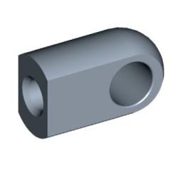 Öga Ø10,1mm Stål