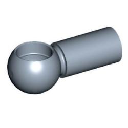 Bollhuvud för Ø10mm Stål