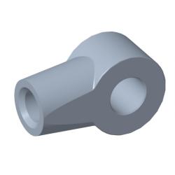 Öga Ø8,2mm Stål