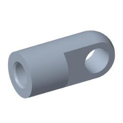Öga Ø8,1mm Stål