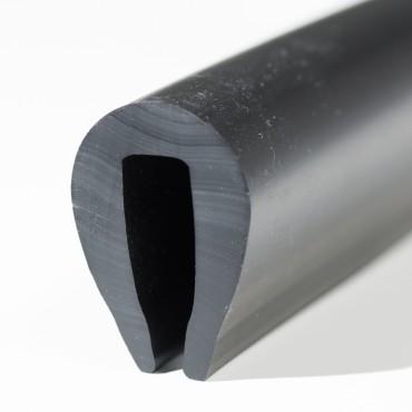 Relingslist - PVC1/5 - SVART
