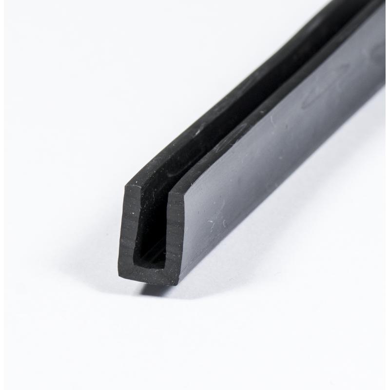 Fabulous U-Profil - 3mm - EPDM | Skydda kanterna med en u-profil ! YU68