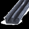 Kanalliste 12mm m.børster