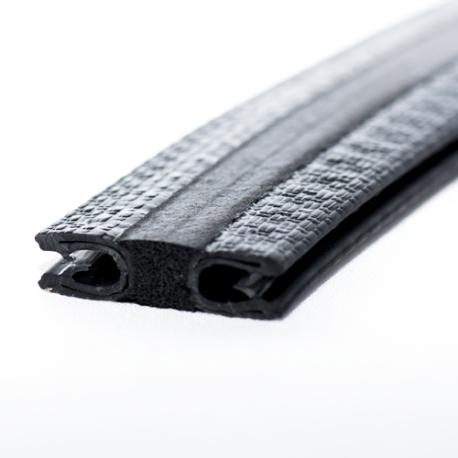 Kantlist 9-12mm Svart